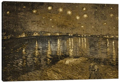 Starry Night Over the Rhone I Canvas Art Print