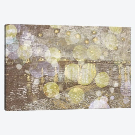 Starry Night Over the Rhone III Canvas Print #CML55} by 5by5collective Canvas Wall Art