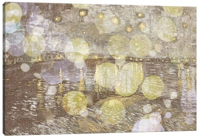 Starry Night Over the Rhone III Canvas Print #CML55