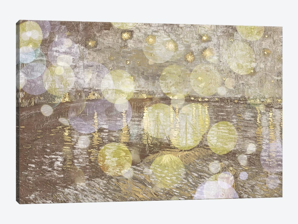 Starry Night Over the Rhone III by 5by5collective 1-piece Canvas Artwork