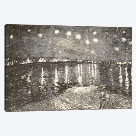 Starry Night Over the Rhone IV Canvas Print #CML56} by 5by5collective Canvas Wall Art
