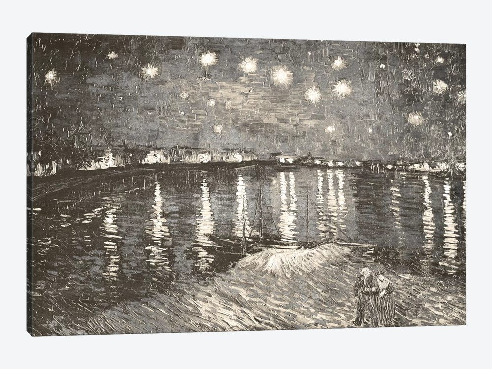 Starry Night Over the Rhone IV by 5by5collective 1-piece Canvas Print