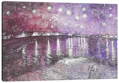 Starry Night Over the Rhone V Canvas Art Print