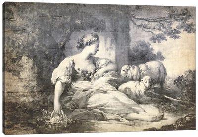 A Shepherdess V Canvas Art Print