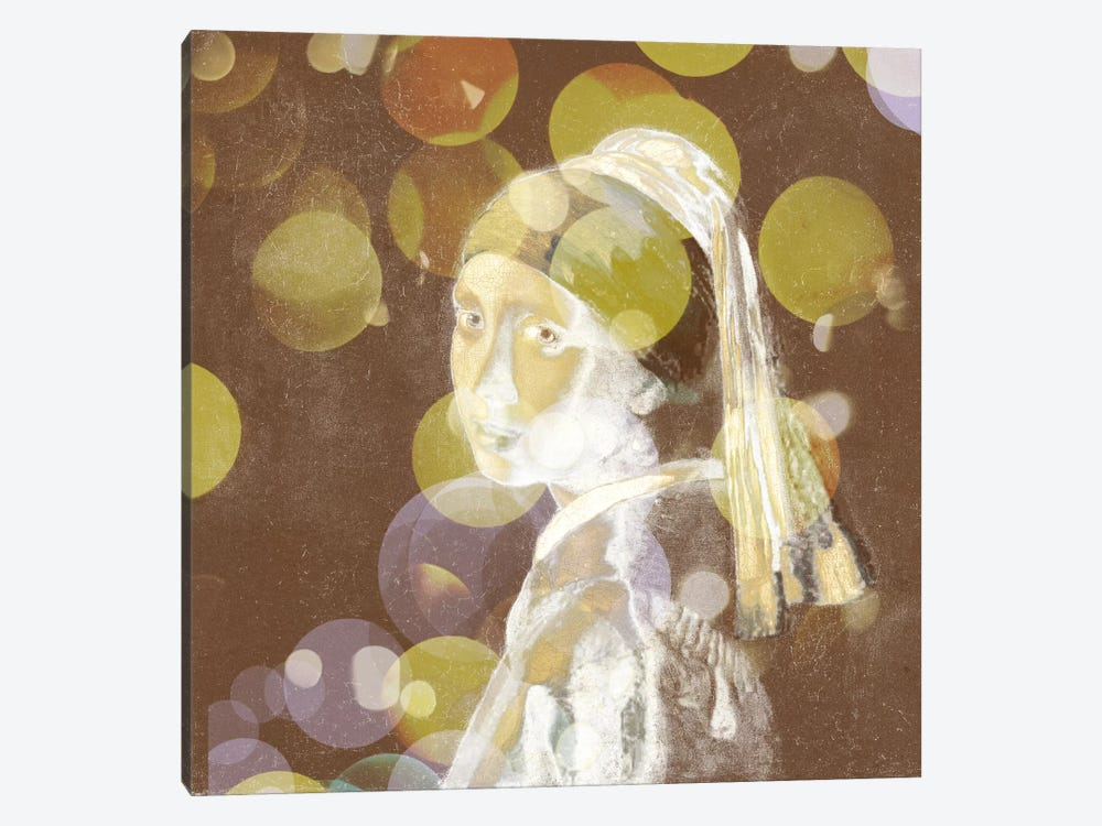 Girl with a Pearl Earring III by 5by5collective 1-piece Canvas Artwork