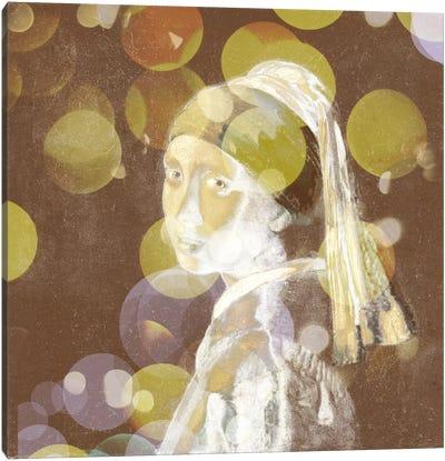 Girl with a Pearl Earring III Canvas Art Print