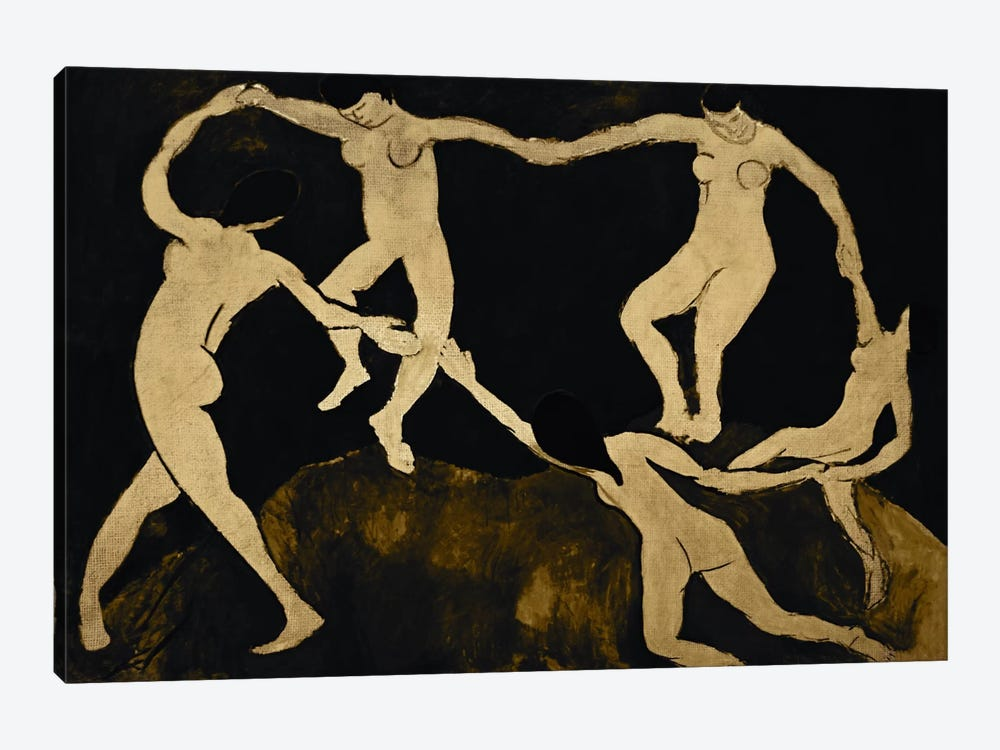 Dance VII by 5by5collective 1-piece Canvas Art Print