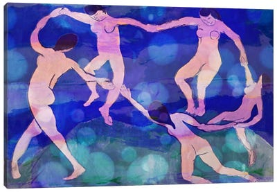 Dance VIII Canvas Art Print