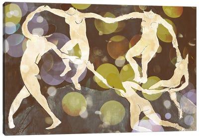 Dance IX Canvas Art Print