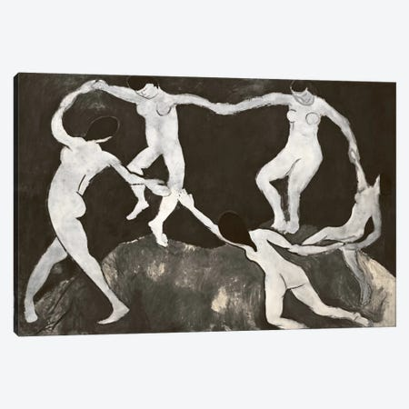 Dance X Canvas Print #CML66} by 5by5collective Art Print