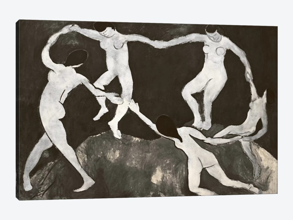 Dance X by 5by5collective 1-piece Canvas Art