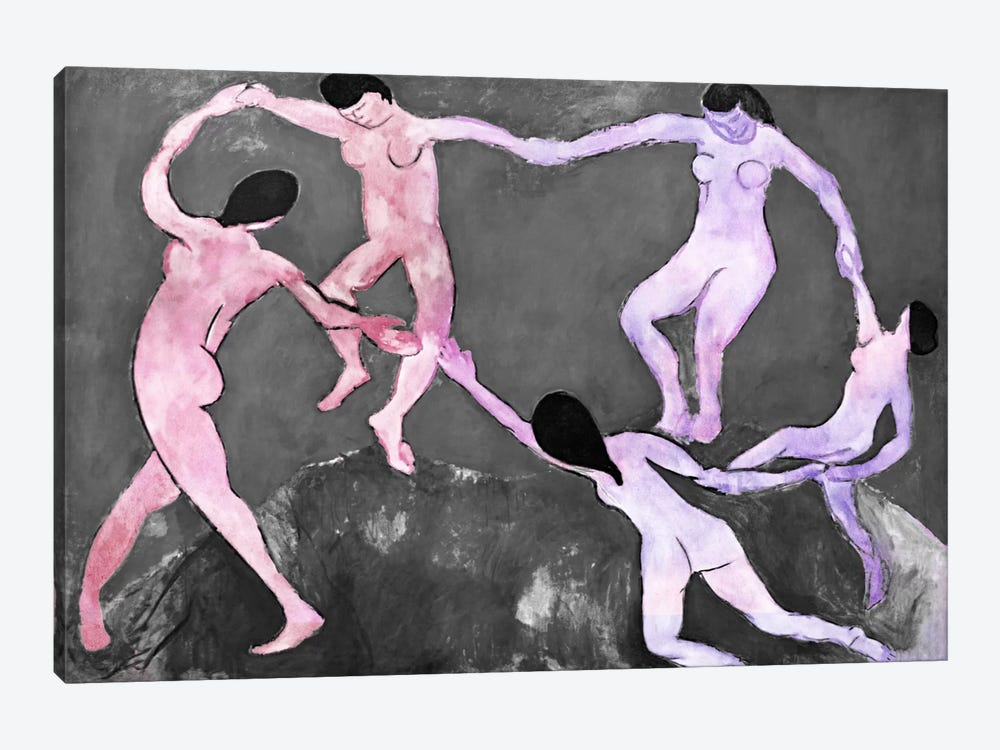 Dance XI by 5by5collective 1-piece Canvas Art Print