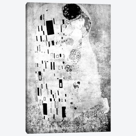 The Kiss VII Canvas Print #CML74} by 5by5collective Canvas Art