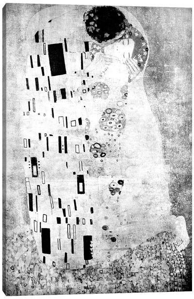 The Kiss VII Canvas Art Print
