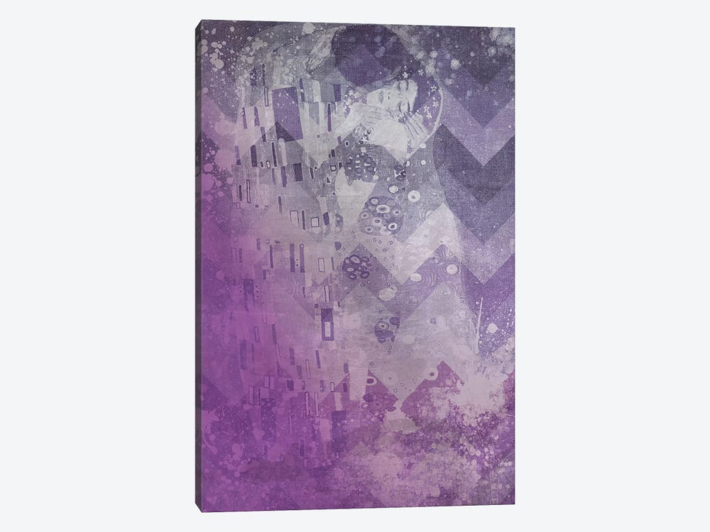The Kiss VIII by 5by5collective 1-piece Canvas Artwork