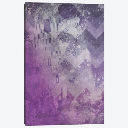 The Kiss VIII Canvas Print #CML75} by 5by5collective Canvas Artwork