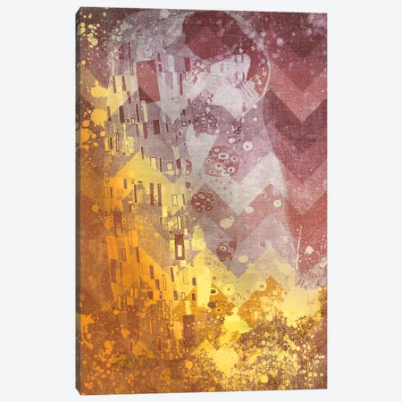 The Kiss IX Canvas Print #CML76} by 5by5collective Canvas Art