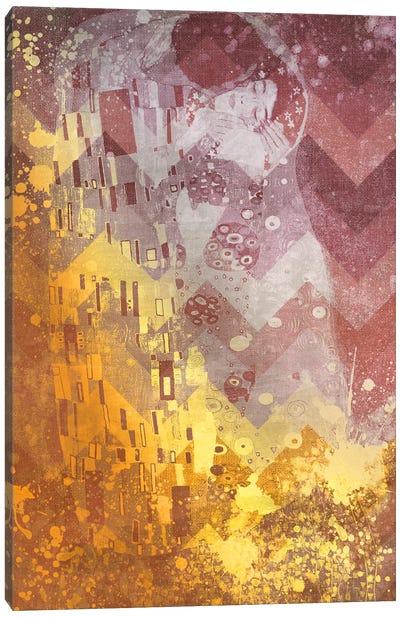 The Kiss IX Canvas Art Print