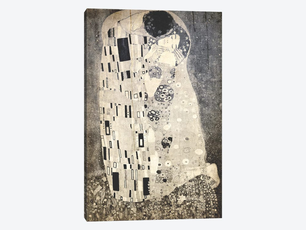 The Kiss X by 5by5collective 1-piece Canvas Artwork