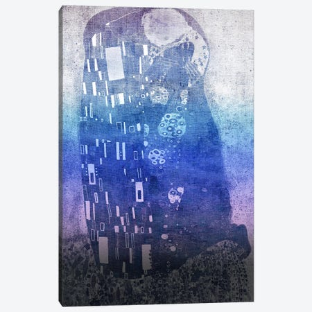 The Kiss XI Canvas Print #CML78} by 5by5collective Canvas Print