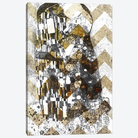 The Kiss XII Canvas Print #CML79} by 5by5collective Canvas Print