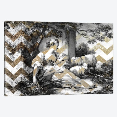 A Shepherdess VII Canvas Print #CML7} by 5by5collective Canvas Art Print