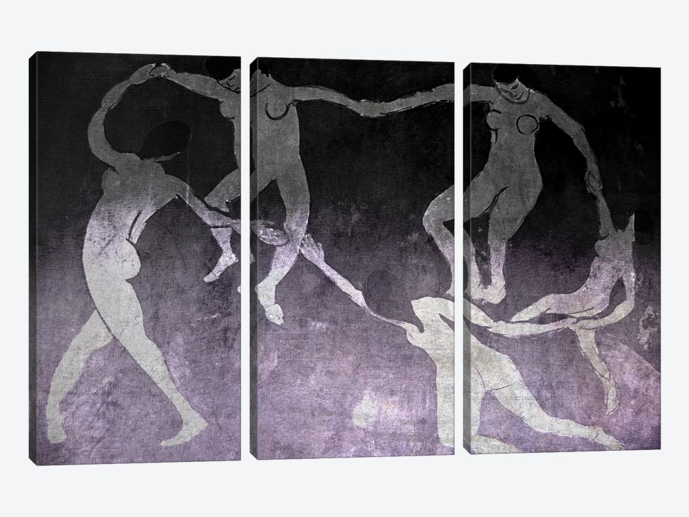 Dance I by 5by5collective 3-piece Canvas Artwork