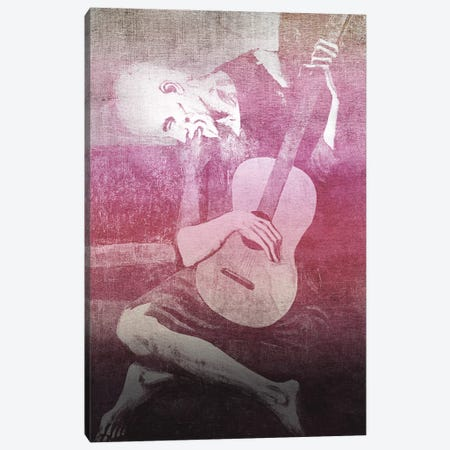 The Old Guitarist XII Canvas Print #CML91} by 5by5collective Canvas Art Print
