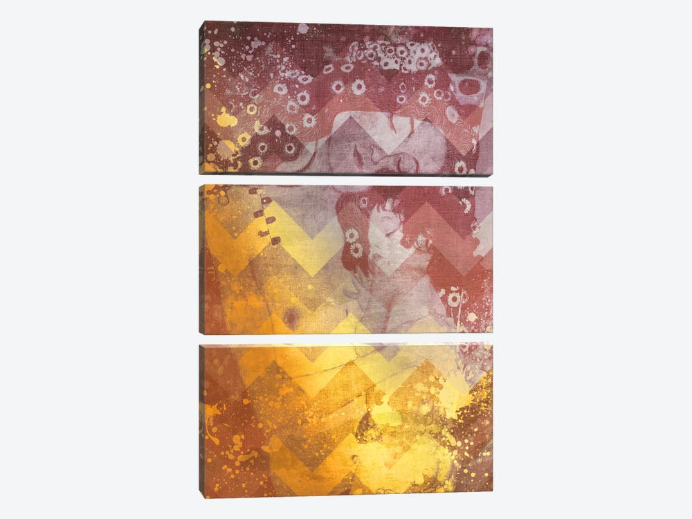 Mother and Child IV by 5by5collective 3-piece Canvas Print