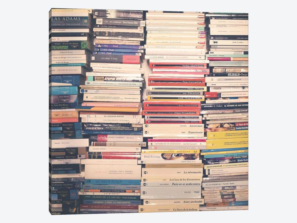 Our Books by Caroline Mint 1-piece Canvas Art