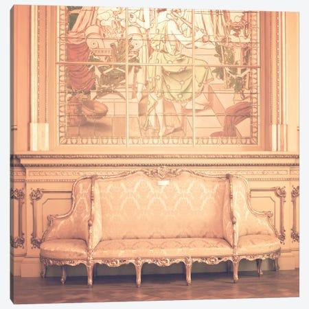 Palace Chair Canvas Print #CMN104} by Caroline Mint Art Print