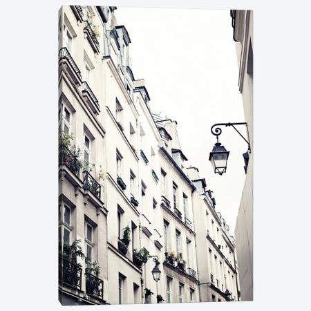 Paris Buildings Canvas Print #CMN106} by Caroline Mint Canvas Art Print