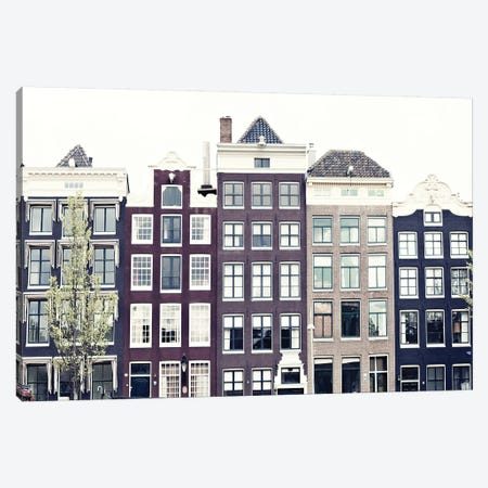 Amsterdam Canvas Print #CMN10} by Caroline Mint Canvas Print