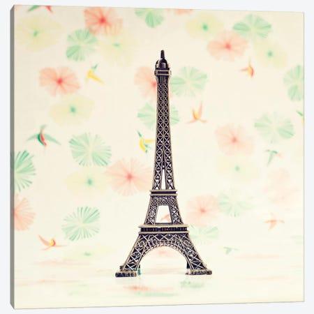 Paris Souvenir Canvas Print #CMN114} by Caroline Mint Canvas Artwork