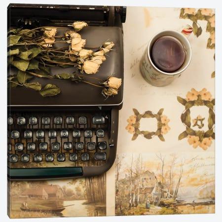 Past Lives Canvas Print #CMN118} by Caroline Mint Art Print