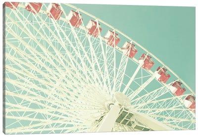 Pink Ferris Canvas Art Print