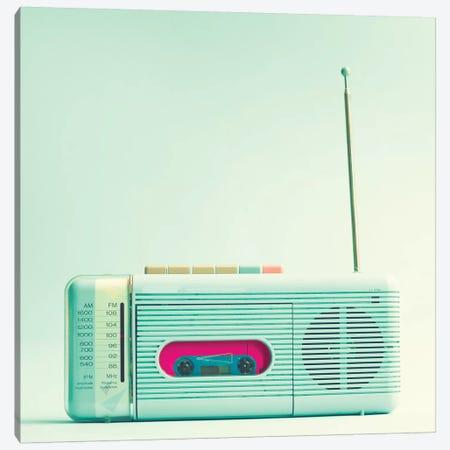 Radio Days 3-Piece Canvas #CMN133} by Caroline Mint Art Print