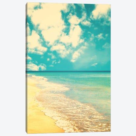 Retro Beach Canvas Print #CMN138} by Caroline Mint Canvas Print