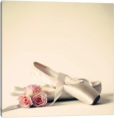Ballet Shoes Canvas Art Print