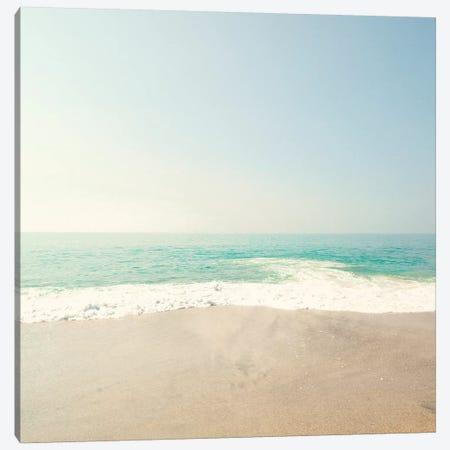 Soft Beach Canvas Print #CMN154} by Caroline Mint Canvas Artwork