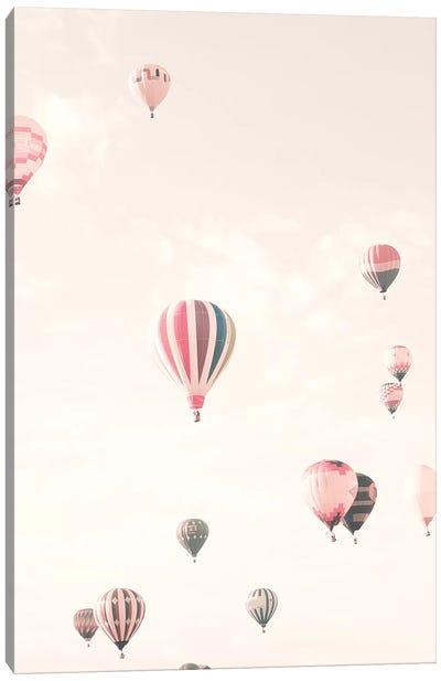 Soft Hot Air Balloons Canvas Art Print