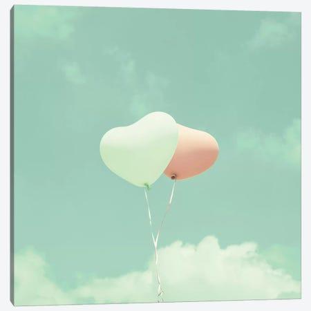 Soft Love Canvas Print #CMN156} by Caroline Mint Canvas Art