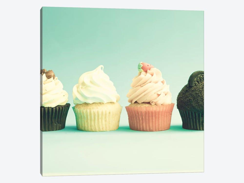 Spring Cupcakes by Caroline Mint 1-piece Canvas Print