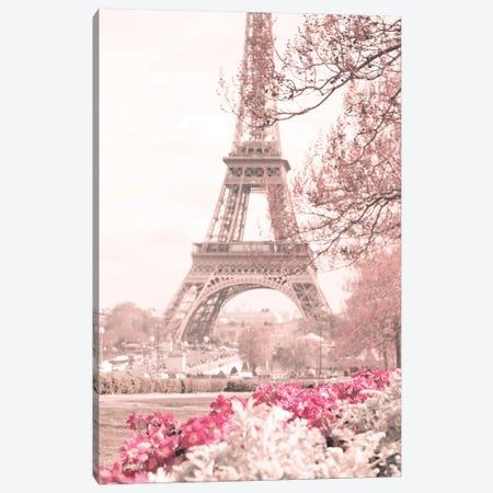 Spring Is In Paris Canvas Print #CMN159} by Caroline Mint Canvas Print