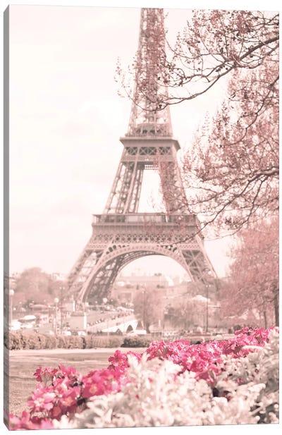 Spring Is In Paris Canvas Art Print
