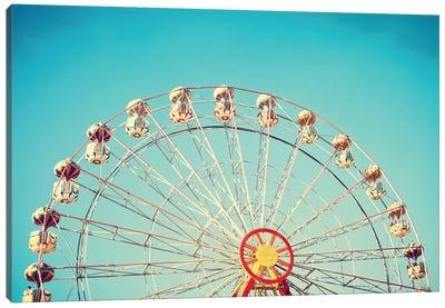 Summer Ferris Wheel Canvas Art Print