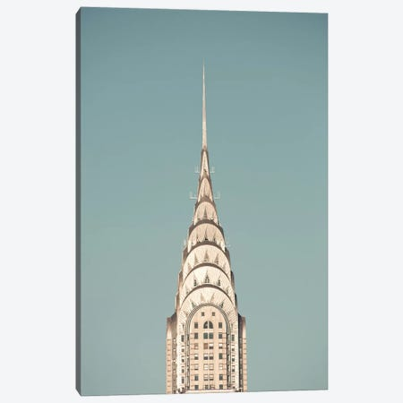 The Chrysler Building Canvas Print #CMN173} by Caroline Mint Canvas Art Print