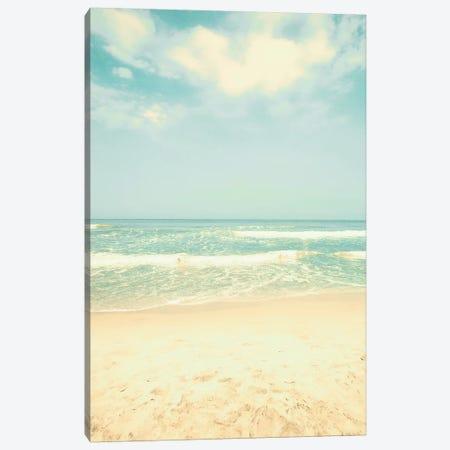 Beach Pleasures Canvas Print #CMN17} by Caroline Mint Canvas Art