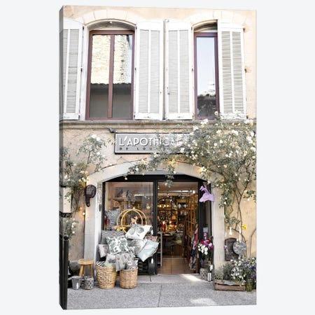 The Provence Shop Canvas Print #CMN181} by Caroline Mint Canvas Art