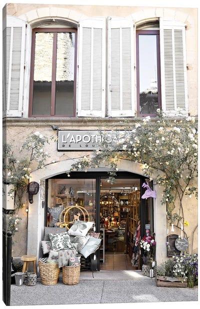 The Provence Shop Canvas Art Print